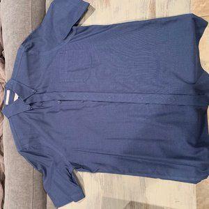 Nordstrom button up short sleeve dress shirt